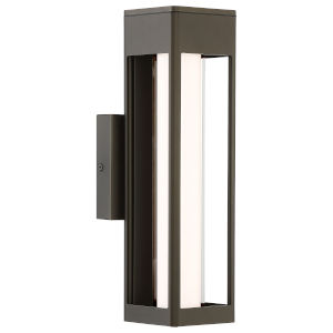 Soll Oil Rubbed Bronze 14-Inch LED Wall Sconce