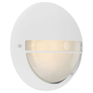 Clifton White 10-Inch LED Outdoor Wall Mount