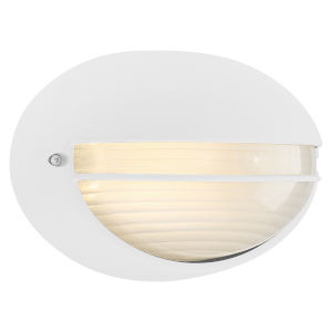 Clifton White 9-Inch LED Outdoor Wall Mount