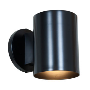Poseidon Black One-Light LED Wall Sconce