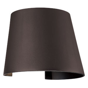 Cone Bronze Led Outdoor Wall Sconce