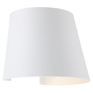 Cone White Led Outdoor Wall Sconce