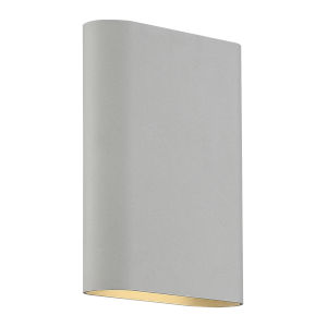 Lux Satin 6-Inch Led Bi-Directional Wall Sconce