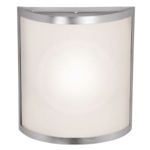 Artemis Brushed Steel 10-Inch Two-Light Led Wall Sconce