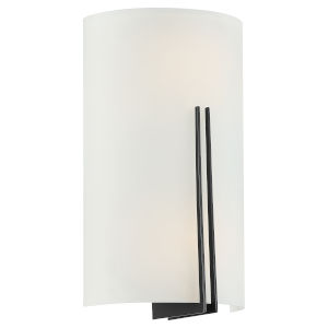 Prong Matte Black 7-Inch Two-Light Wall Sconce