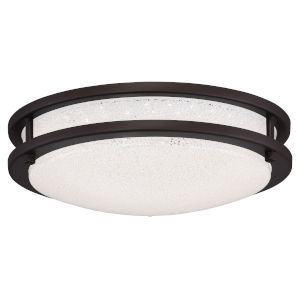 Sparc Bronze 12-Inch Led Flush Mount