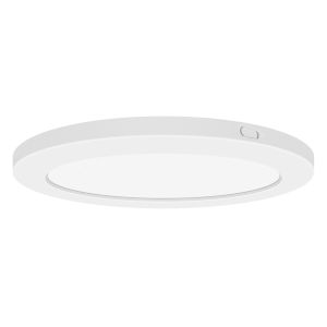 Modplus White 12-Inch Led Round Flush Mount