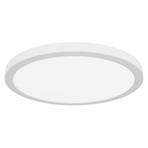 Modplus White 16-Inch Led Flush Mount