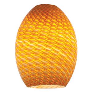 FireBird Orange Mini Pendant Shade