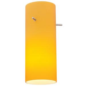 Cylinder Orange Mini Pendant Shade