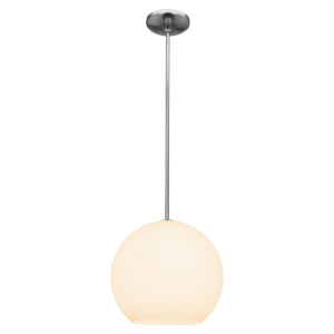 Nitrogen Brushed Steel 12-Inch Led Pendant