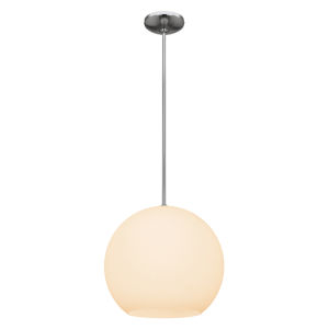 Nitrogen Brushed Steel 14-Inch Led Pendant