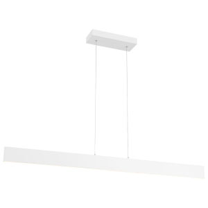 Carmel Matte White 4-Inch LED Island Pendant