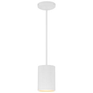 Pilson Matte White 7-Inch One-Light Mini Pendant