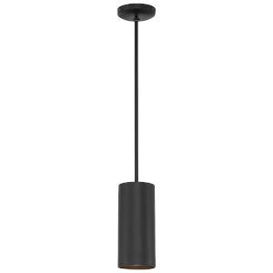 Pilson Matte Black 11-Inch One-Light Mini Pendant