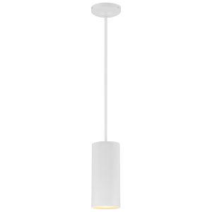 Pilson Matte White 11-Inch One-Light Mini Pendant