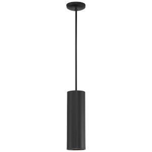 Pilson Matte Black 15-Inch One-Light Mini Pendant