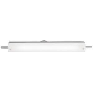 Vail Brushed Steel 30-Inch Led Bath Bar