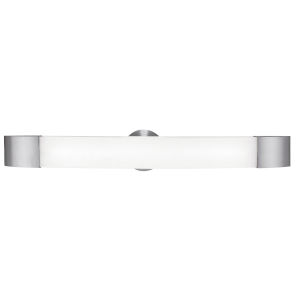 Aspen Brushed Steel Led Bath Bar