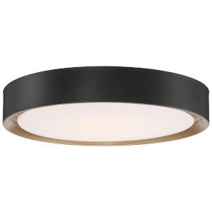 Malaga Matte Black 20-Inch LED Flush Mount