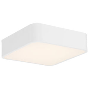 Granada White 12-Inch LED Flush Mount
