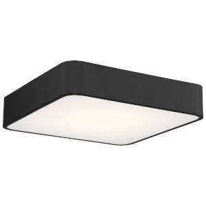 Granada Black 16-Inch LED Flush Mount