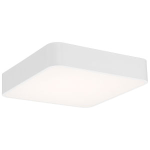 Granada White 16-Inch LED Flush Mount