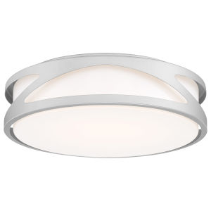 Lucia Satin 14-Inch LED Flush Mount
