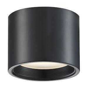 Reel Black 5-Inch Led Flush Mount