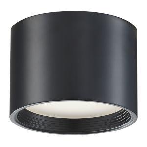 Reel Black 7-Inch Led Flush Mount