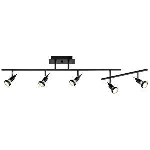 Viper Black Five-Light Directional Spotlight
