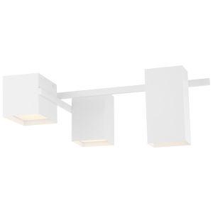 Madrid Matte White LED Flush Mount