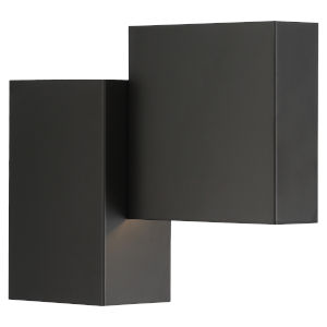 Madrid Matte Black LED Wall Sconce