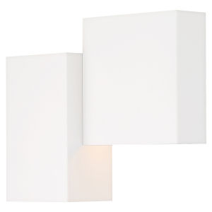 Madrid Matte White LED Wall Sconce