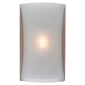 Radon Brushed Steel LED Wall Sconce