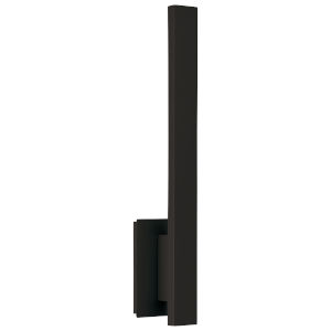 Haus Matte Black LED Wall Sconce