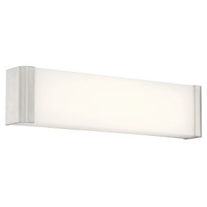 Origin Brushed Steel 19-Inch Led Bath Bar