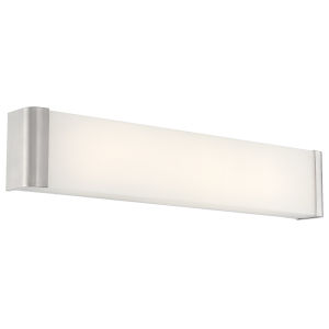 Origin Brushed Steel 25-Inch Led Bath Bar