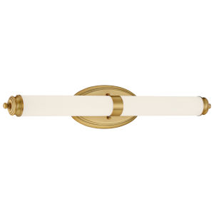 Madison Brushed Gold 27-Inch LED Wall Sconce