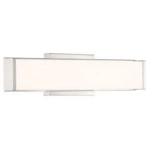 Citi Brushed Steel 18-Inch LED Wall Sconce