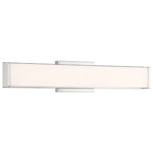 Citi Brushed Steel 24-Inch LED Wall Sconce