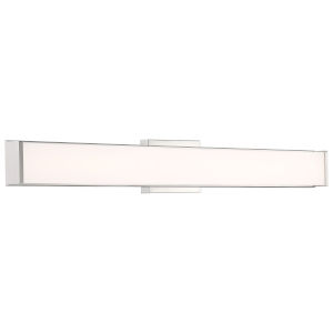 Citi Brushed Steel 36-Inch LED Wall Sconce