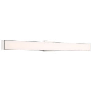Citi Brushed Steel 48-Inch LED Wall Sconce