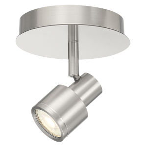 Lincoln Brushed Steel 17W LED Track Light