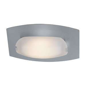 Nido Matte Chrome One-Light LED ADA Bath Sconce