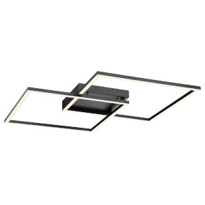 Squared Black 31-Inch Led Wall Sconce