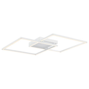 Squared White 31-Inch Led Wall Sconce
