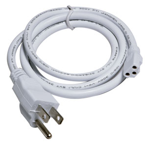 InteLED 36-Inch White Power Cord