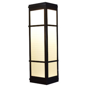 Metropolis Bronze Six-Inch LED Wall Sconce