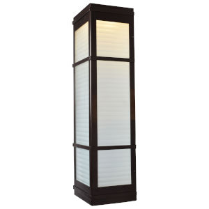 Metropolis Bronze LED Wall Sconce